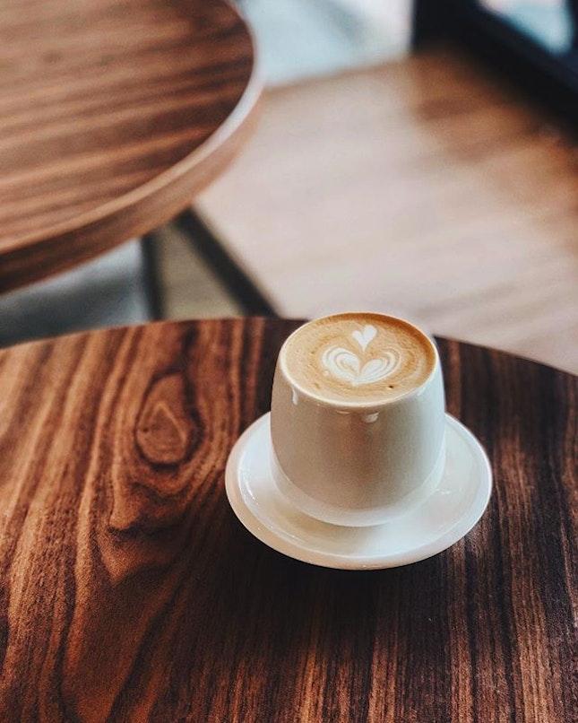 Coco Latte  #淡淡的椰子香  #percolatesg#instapic#instadaily#foodie#cafehopping#burpple#foodporn#instamood#throwback#latte#coffee#foodphotography#vsco#instamood#eastside#sgcafe#eatoutsg#8dayeats