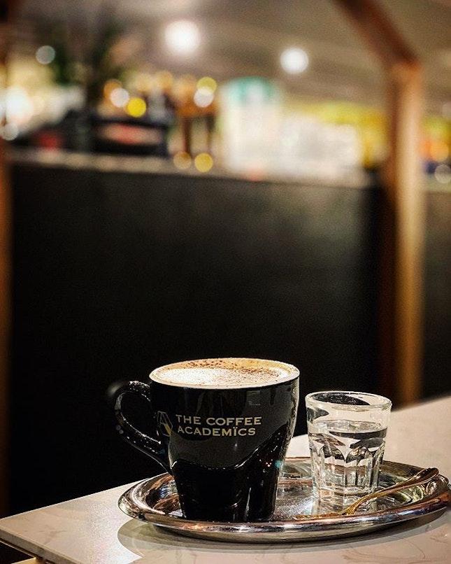 Latte with Okinawa dark brown sugar.