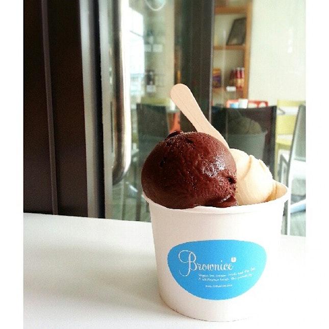 Healthy ice cream.