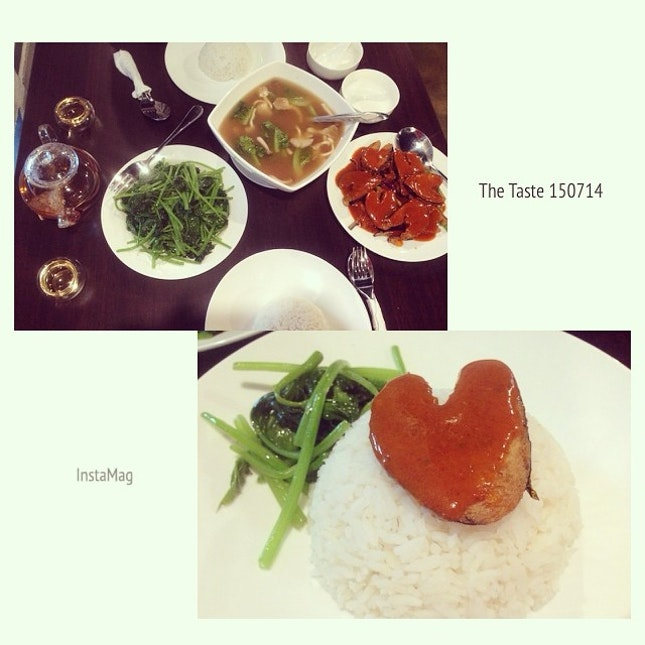 #holiday #kuanyin #birthday 🙏 #brunch #vegetarian have a #heart ❤️ day 😍