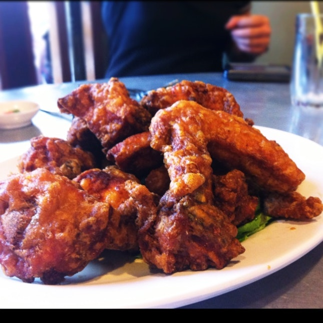 Fried Chicken With Curry Spices