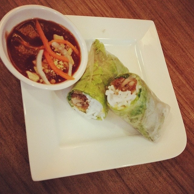 #lunch #vietnamese #riceroll #springroll #theorangelantern #harbourfront #vegetables #fresh #sgfood #singapore #yummy #delicious #foodporn #foodstagram #foodie #food #foodgloriousfood #foodlover #icapturefood #instafood #ilovefood #foodblogger