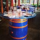 #barrel #table #colourful #decoration #interior #solepomodoro #italiancuisine #Quaysideaisle #sentosacove #sentosa #dinner #sgfood #singapore #yummy #delicious #foodporn #foodstagram #foodie #food #foodgloriousfood #foodlover #igfood #icapturefood #instafood #ilovefood #foodblogger