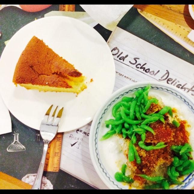 Chendol; Butter Cake