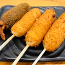 Korean Corndogs, Tteokbokki, Lightbulb Juice & More