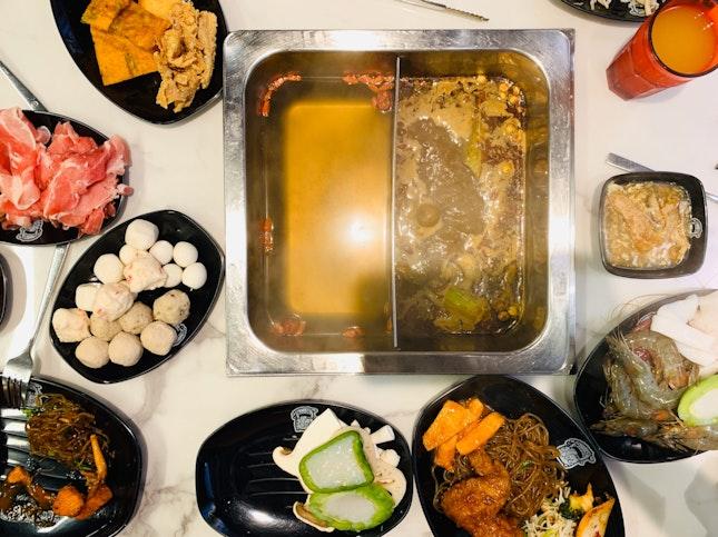 Free-Flow Steamboat & Korean Food