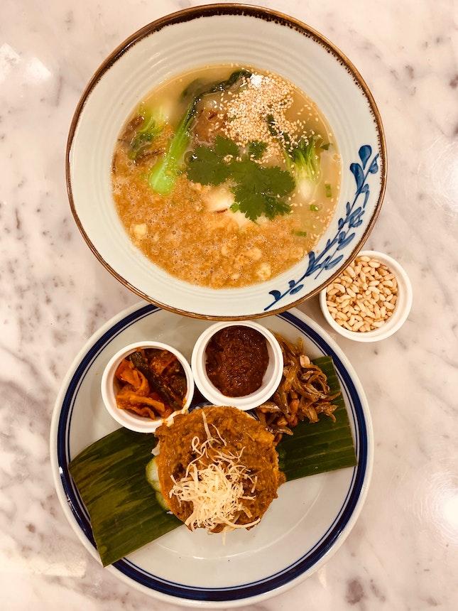 British-Colonial Singapore Local Cuisine