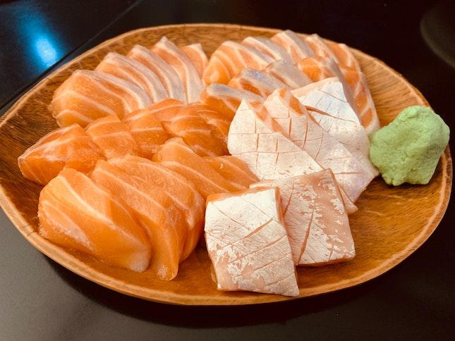 $3 Salmon Sashimi