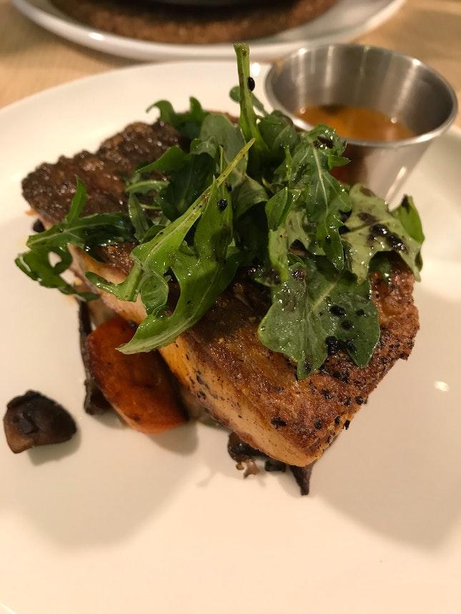 Pan Grilled Salmon