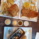 Classic Sea Bass Fish&Chips And Classic Dory Fish&Chips
