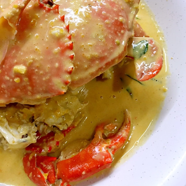 Salted Egg Butter Crab