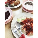 Char Siew Rice and Pulut Hitam