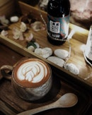 Introducing the new Hot Chocolate, (70% Varlhona dark chocolate)  A smooth and chocolatey taste.