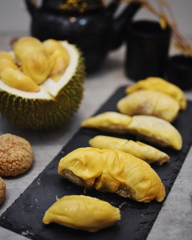 Ever had Omakase experience for durian?!