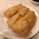 deep fried beancurd skin w prawns