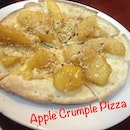 Apple Crumple Pizza