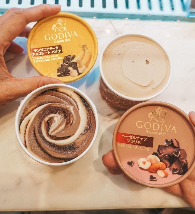 Godiva's Latest flavoured Cups