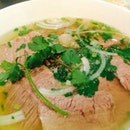 Beef Noodle Soup with Well-Done Brisket & Flank