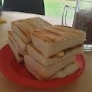Kaya Toast ($1.20 for 2 slices)