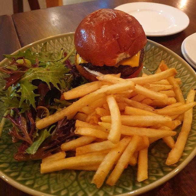 Wagyu Cheeseburger ($25)