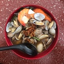 Clams And Prawn Mee