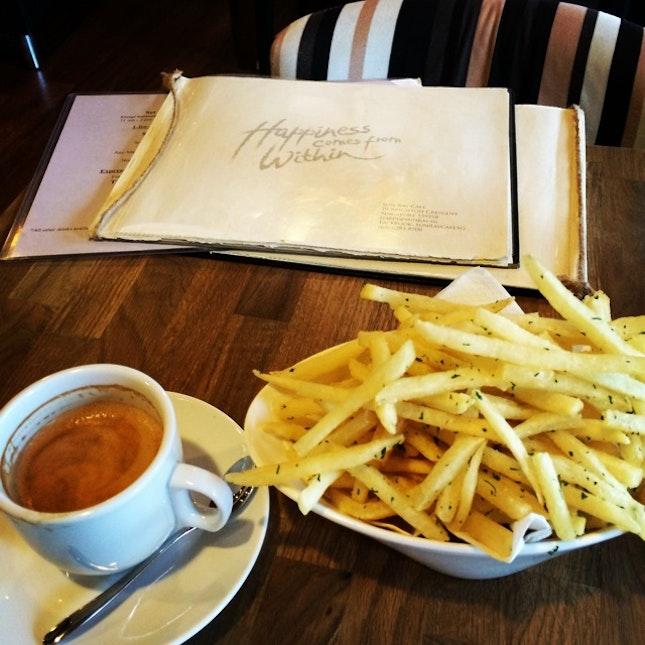 Flat White & Truffle Fries