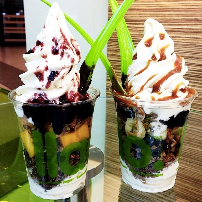 For Fantastic Frozen Yoghurt