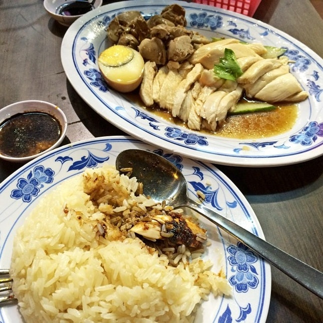For Hainanese Chicken Rice