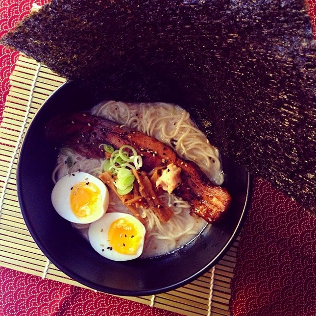 For Pork Rib Tonkotsu Ramen