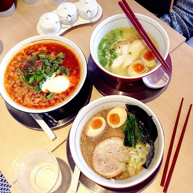 For Six Types of Ramen Under One Roof