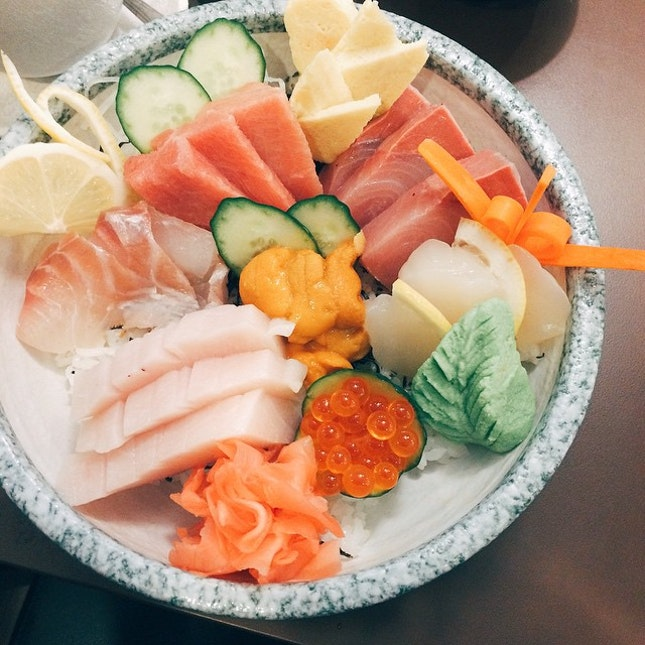 For Super Generous Sashimi