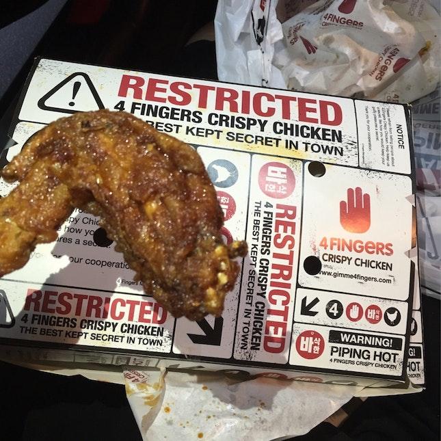 For Crispy Chicken Cravings