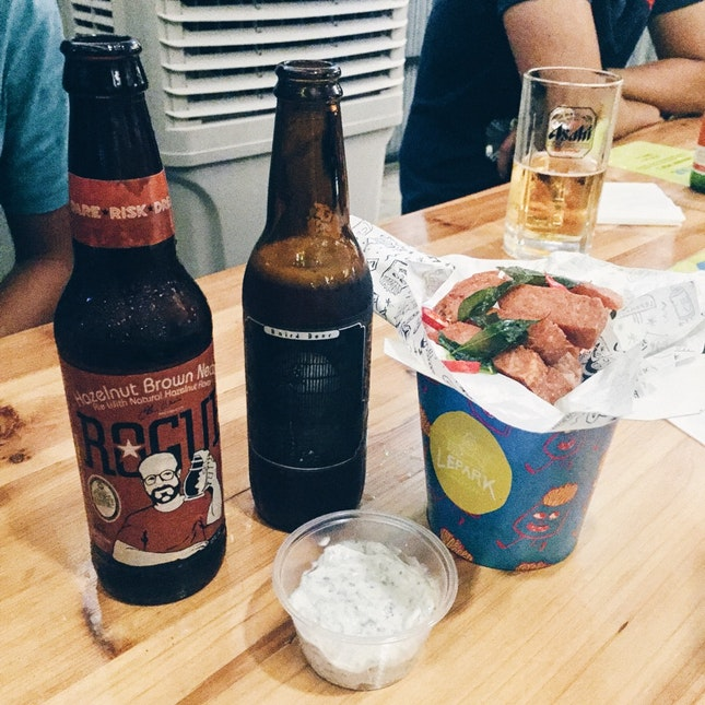 For Craft Beers on a Rooftop