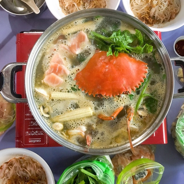For Customizable Prawn Broth Hot Pot