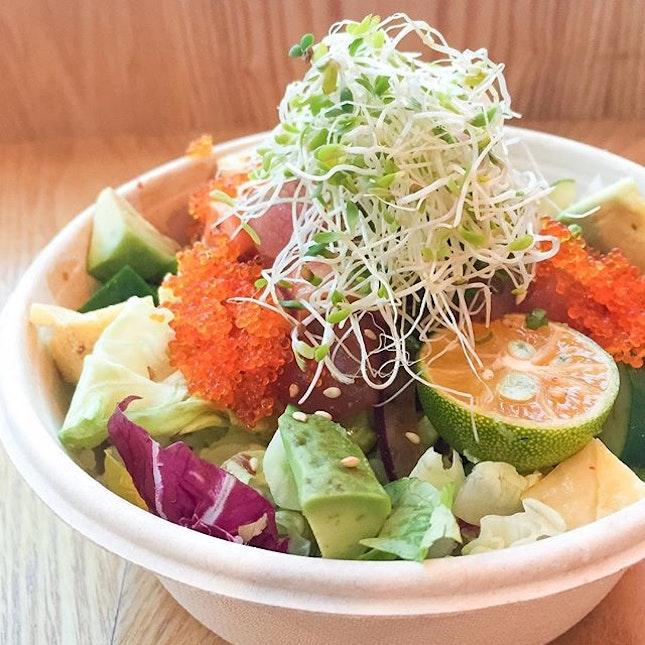 For Asian-Inspired Poké Bowls