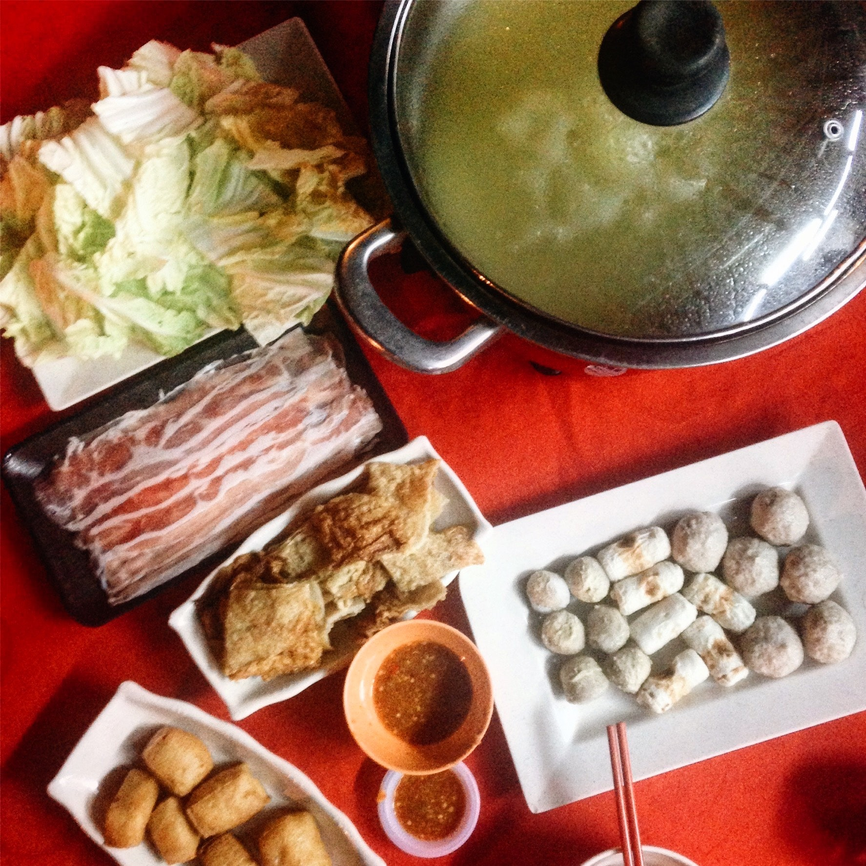For Scrumptious Steamboat with Crab Roe