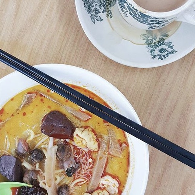 For Early Morning Penang Curry Mee