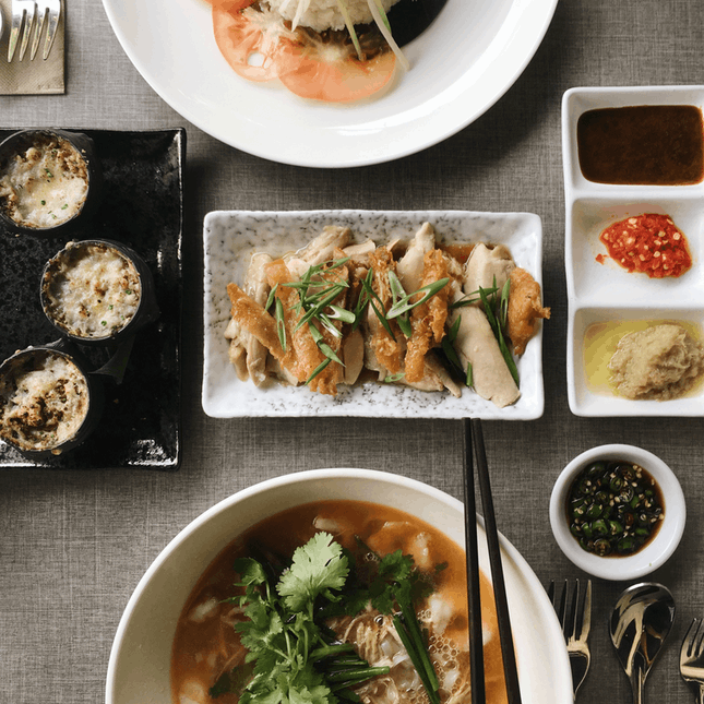 For Renewed Hainanese Recipes