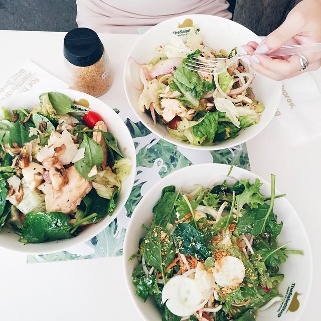 For Super Fresh DIY Salads