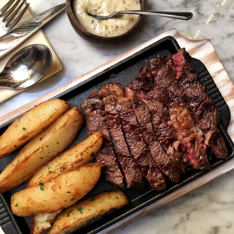 For a Prix Fixe Steak Lunch under $30