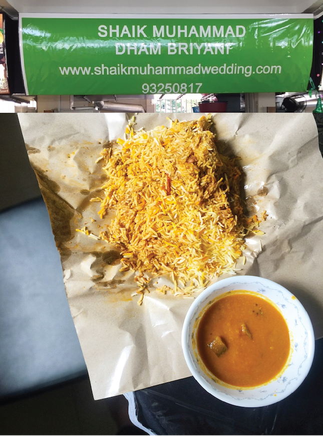 For Possibly the Best Biryani in Tampines