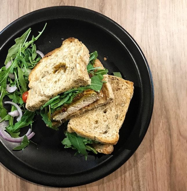 For A Kam Heong Chicken Sandwich