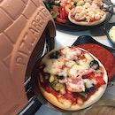 For a DIY Pizza Buffet