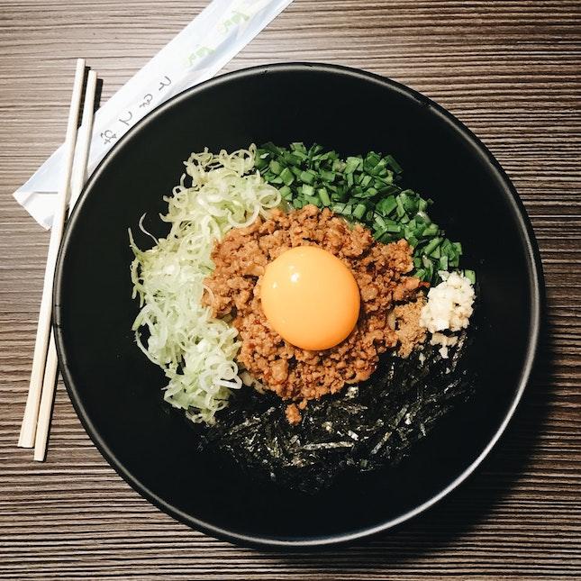 For Nagoya-Style Mazesoba