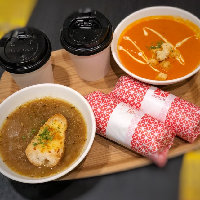 For 1-for-1 Signature Souper Combo (save up to $12.80)