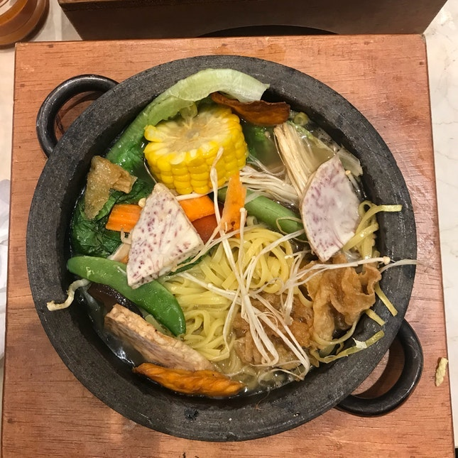 For Belly-Healthy Sauna Noodles