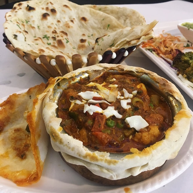 For Soul-Satisfying Vegetarian Indian Fare