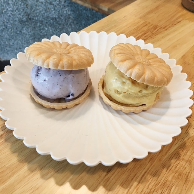For Japanese Ice Cream Sandwiches