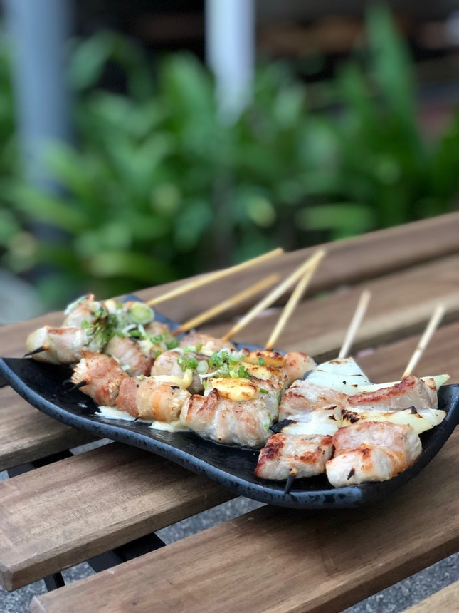 For Tasty Skewers along Guillemard Road