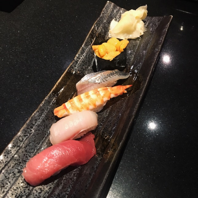 For a Surprise Sushi Dinner